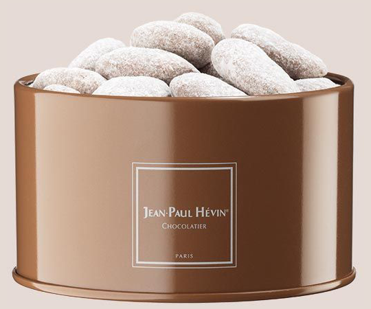 Milk caramel almonds - tin box