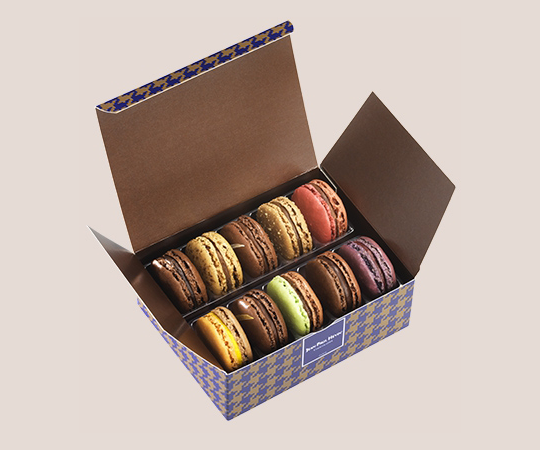 Macarons set - 10 pieces