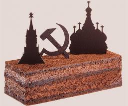 Gâteau du voyage Moscow
