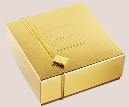 coffre d'or chocolats praliné ferme