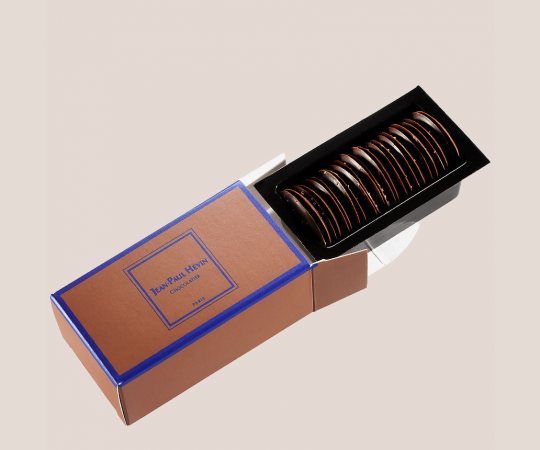 Thin chocolate round refill