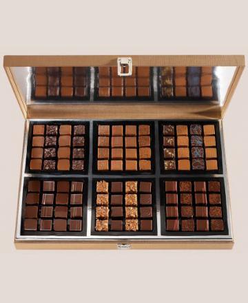 Boite cave 96 chocolats assortiment
