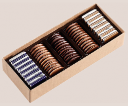 Assorted palets coffret 250g