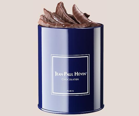 Orangines - blue tin box