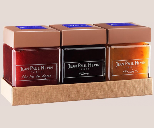 3 jars of Jam