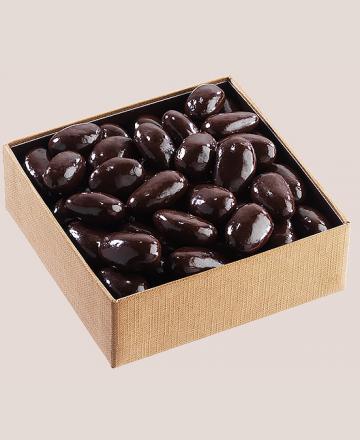 Carré d'or les amandes chocolat noir