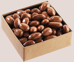 Milk chocolate almonds -...