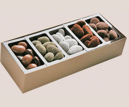 Roasted almonds tasting box...