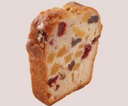 Part de Cake aux fruits...
