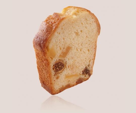 Slice of Pineapple Fig Cake