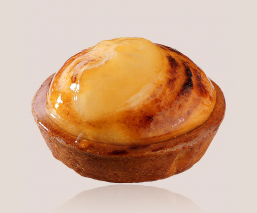 Puffed pear tartlet