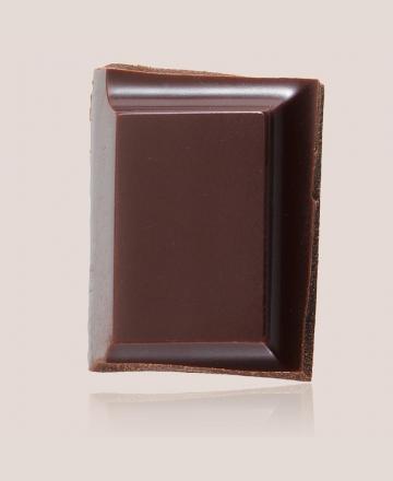 tablette de chocolat noir sur del lago
