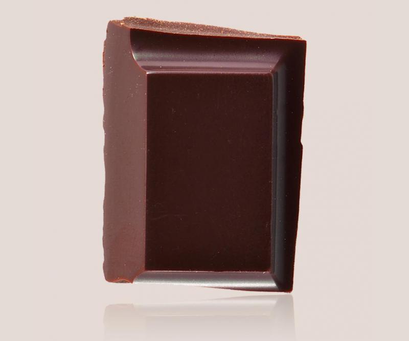 tablette de chocolat noir trinité 74%