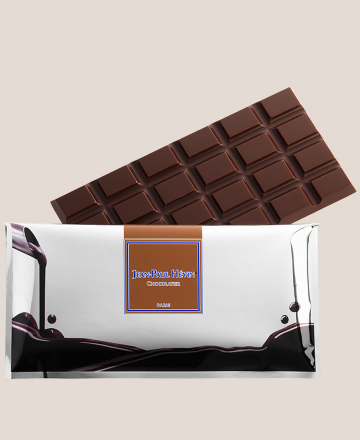 étui tablette de chocolat noir Alegria
