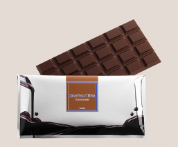 etui tablette chocolat noir fitness