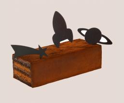 Bûche chocolat Sideral