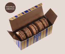 Etui 5 macarons chocolat Chanchamayo
