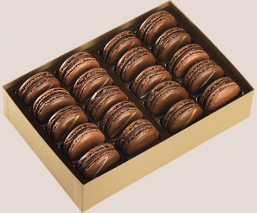 Coffret 20 macarons Total Cacao