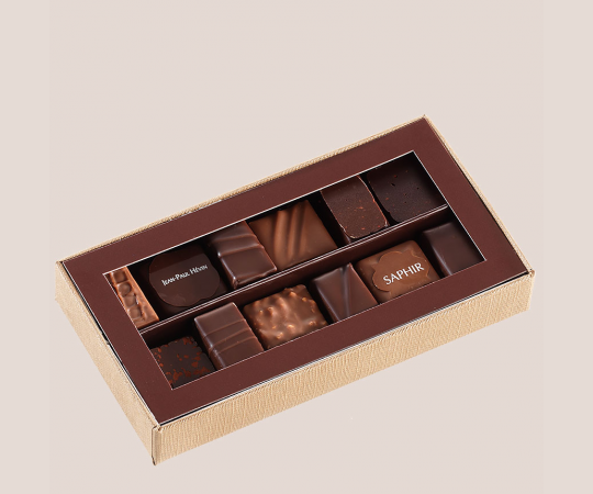 Classical chocolate box 110 gr