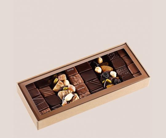 Curiosité Chocolate box 280g