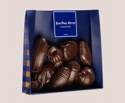 Dark chocolate seafood -...