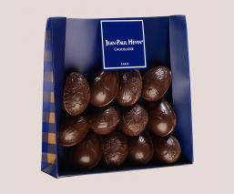 Sachets œufs pralinés chocolat noir