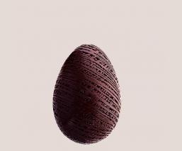 Dark chocolate egg