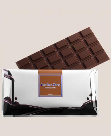Tablette de chocolat avec étui refermable