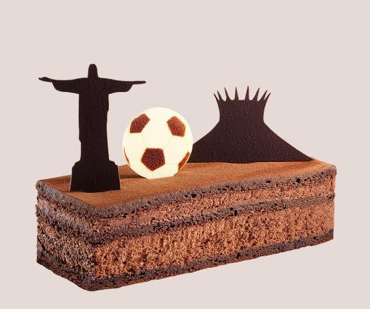 Gâteau du voyage Rio...