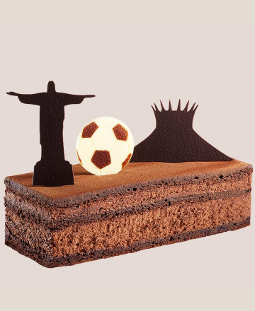 Gâteau du voyage expédiable rio